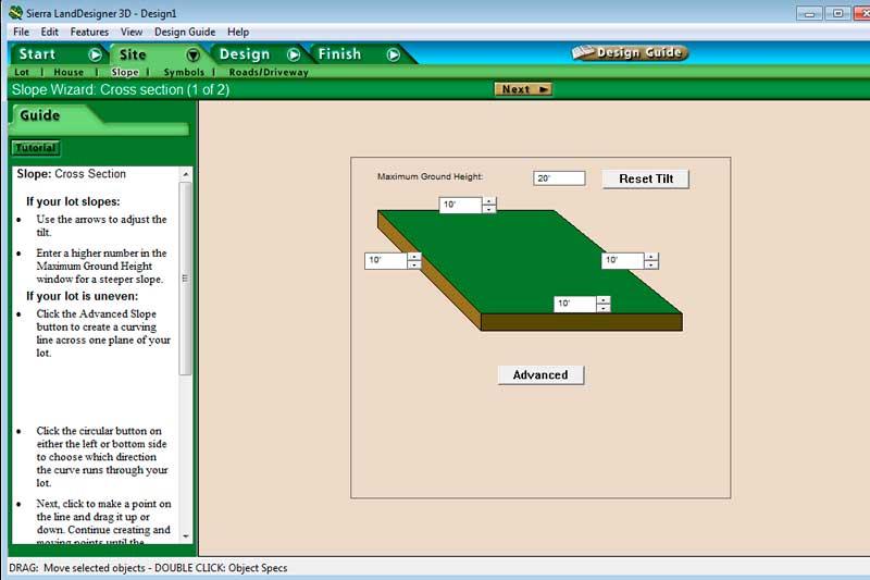 Программа Sierra Land Designer