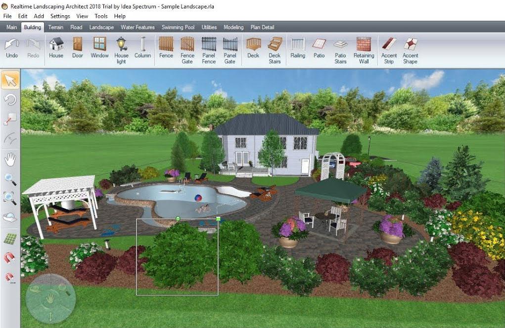 Программа Realtime Landscaping