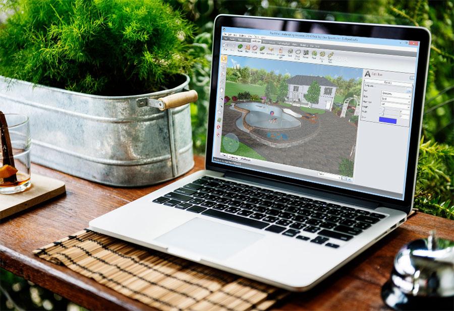 Компьютер ландшафтного дизайнера