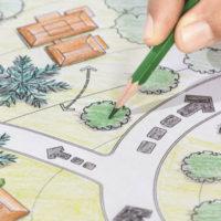 Проектирование озеленение